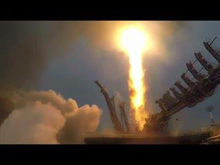 Пуск и вывод на орбиту РН Союз-2.1а со спутником связи Меридиан-М