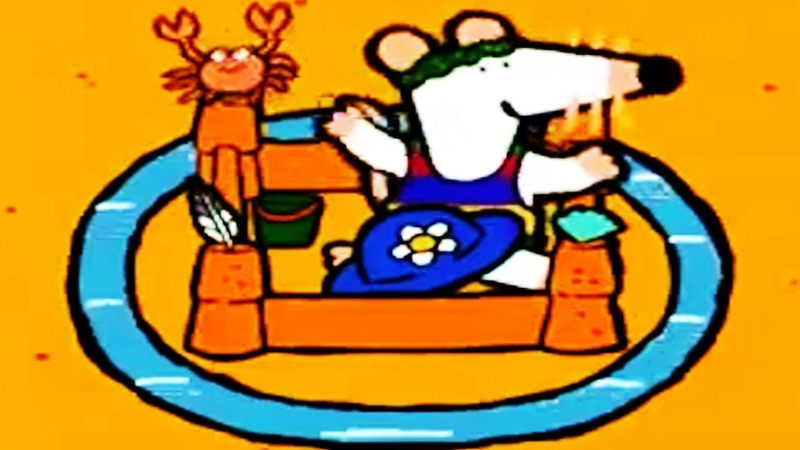 Maisy Mouse Official | Sandcastle | English Full Episode | Videos For Kids