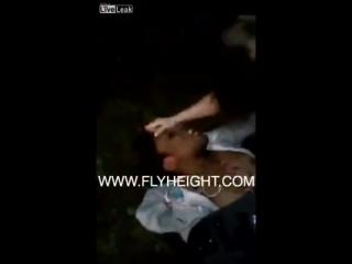 White Girl Beats Sister's Ass!