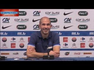Zapping 07/09/12 - Самый быстрой гол в истории Лиги 1, Ван дер Виль осваивается на базе, Жалле на пресс-конференции сборной Фран