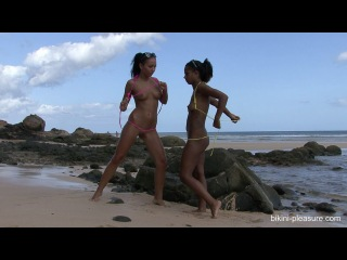 Shiny lycra helen bikini-pleasure - bailey & isabella