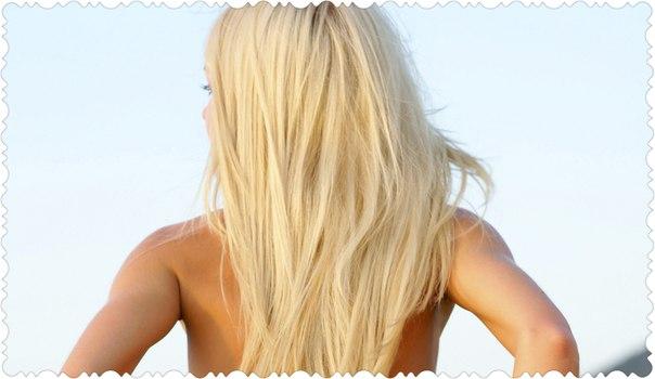 Самые красивые блондинки спиной на аву в