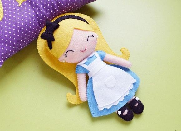 Кукла из фетра своими руками как сделать