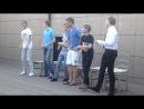 конкурс танца на стульях у мальчиков, выпускной 9 класс 2014