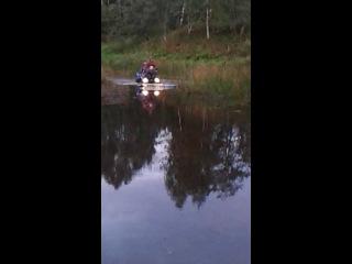 брод на реке сить