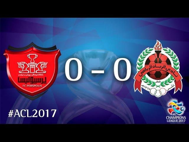 Persepolis FC vs Al Rayyan SC (AFC Champions League : Group Stage - MD 4)