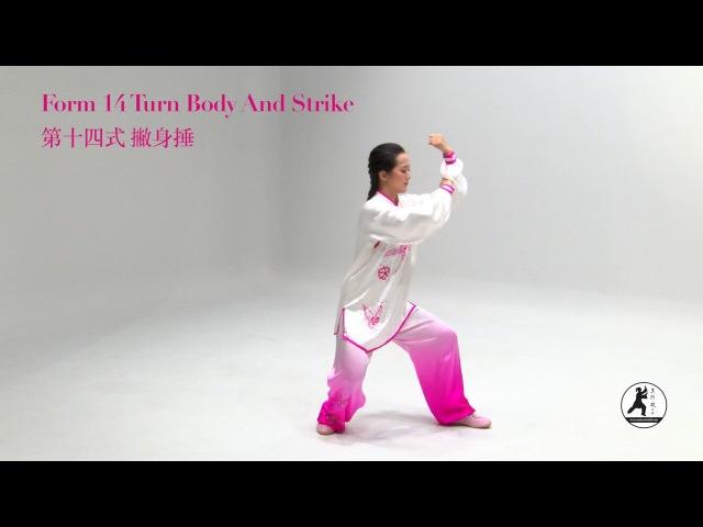 32 Form Tai Chi Demonstration Master Amin Wu 吳阿敏新版32式太極拳DVD