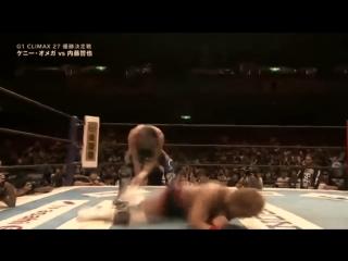 Kenny Omega vs Tetsuya Naito G1 Climax 2017