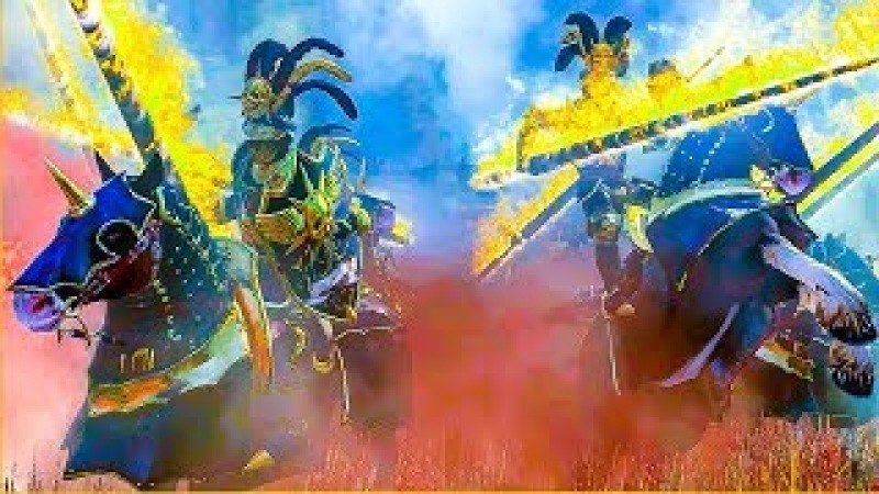 EMPIRE RESKIN Mod - Total War WARHAMMER Cinematic Battle Machinima