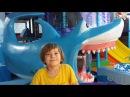 ✿ Игровой парк развлечений для детей в ТЦ: Горка, Батут, Пиратский корабль и Большая Акула