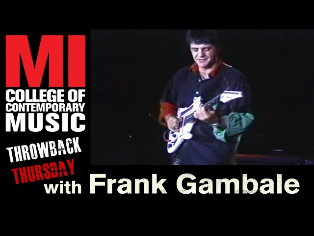 Frank Gambale Throwback Thursday From the MI Vault 2/15/1995