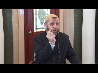 Шейх Хамзат Чумаков. Пятничная проповедь от г.
