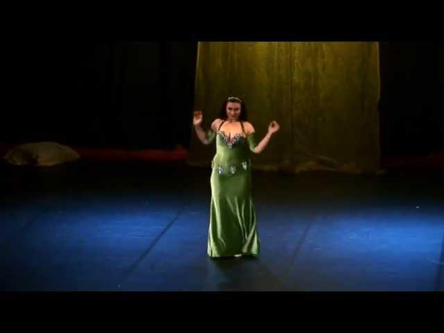 SHEREEN ORIENTAL DANCE to Kermal ayounak by Wael Kfouri