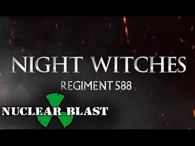 SABATON Night Witches OFFICIAL LYRIC VIDEO