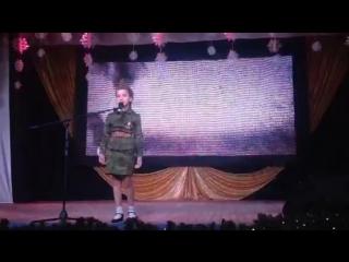 Выступление Маргариты, конкурс мисс маленькая Югорчаночка