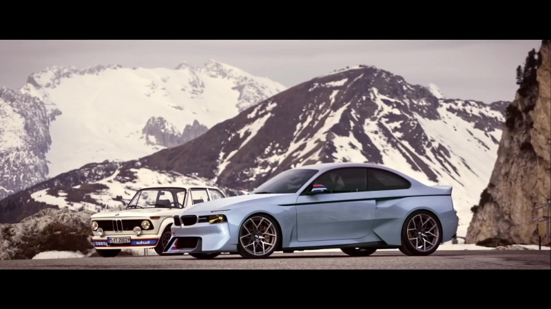 BMW 2002 Hommage Concept Based on M2