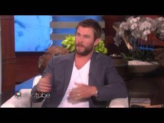 Chris Hemsworth's Surprise for a Fellow Hero