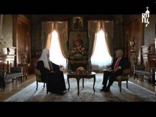 Пасхальное интервью Патриарха Кирилла телеканалу «Россия»