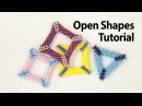 BeadsFriends Basic Peyote Tutorial Peyote open shapes how to make a holed triangle with beads