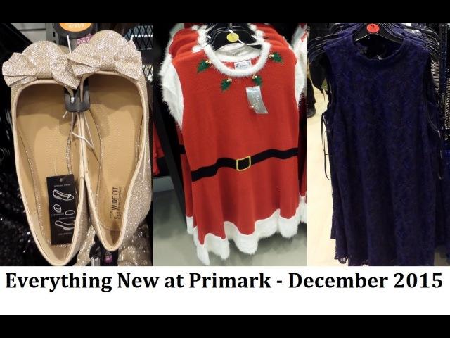 Everything New at Primark December 2015 - Merry Christmas   IlovePrimark