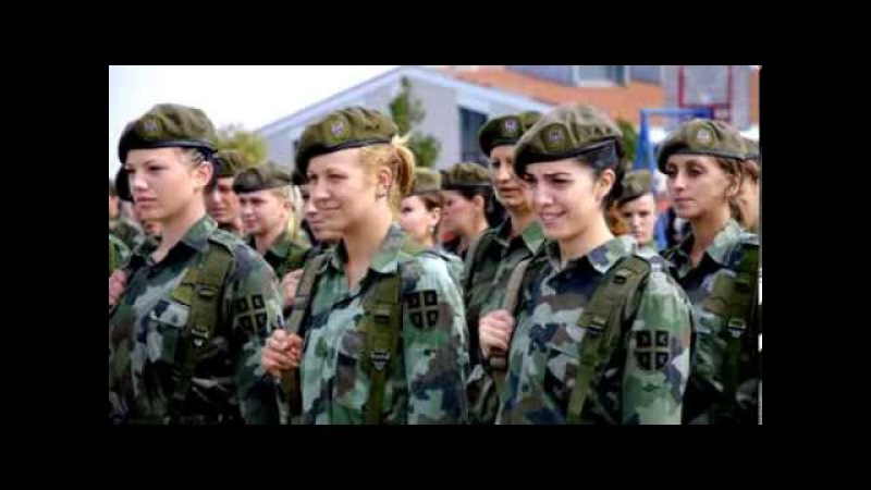 Нашим Защитницам! Ансамбль-Песенные узоры-Женщины в погонах