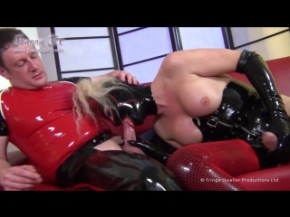Joanna Jet Shemale Fetish Passion 2-Pure Latex-1080p Transexual Anal Shemale Trap