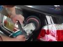 Восстановительная полировка кузова автомобиля с применением защитной полироли Жидкое стекло