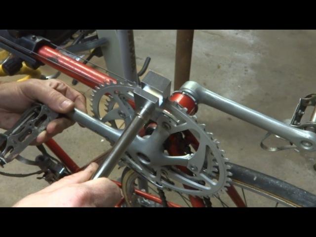 Straightening A Bent Chainring
