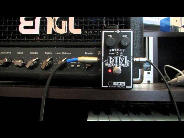 EHX Pocket Metal Muff DI via ENGL Gigmaster