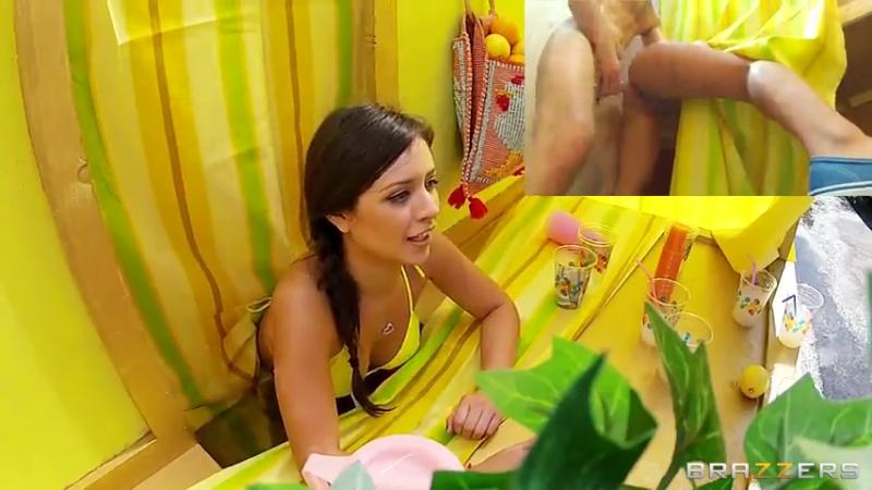 Девушка продает лимонад а парень ее 12
