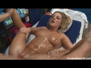 Melissa matthews - трахнул девченку после массажа (большие сиськи, минет, упругая попка, big tits, oiled, blowjob, порно,  porn)