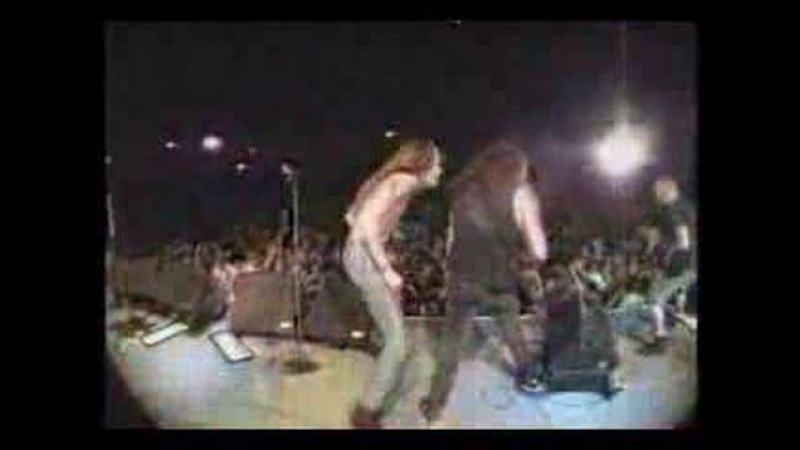 Skid Row Pantera with Ace Frehley - Cold Gin (KISS cover)