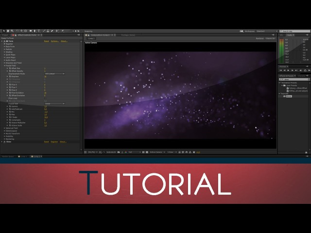 Abstract Particles using Trapcode Form | After Effects Cinema 4D Tutorial
