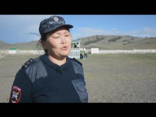 Полицейские Тувы посетили детские лагеря