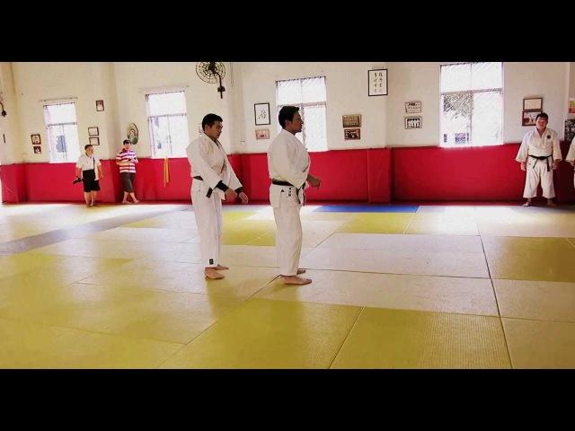 Judo Legend Jeon Ki Young Morote Seoinage HD