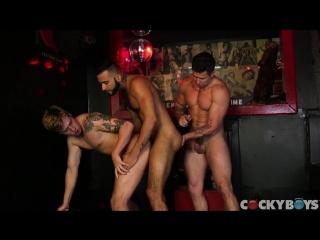 [cockyboys] one erection, episode one: sticky face (lukas grande, rikk york & trenton ducati)