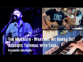 Tim McIlrath - What Are We Gonna Do (Guitar Lesson/Tutorial) feat. EmilPiano