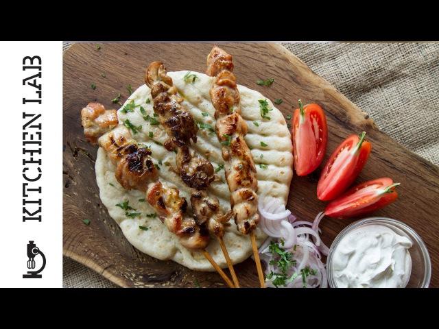 Σουβλάκι κοτόπουλο   Kitchen Lab by Akis Petretzikis