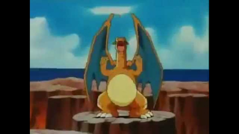 Charizard vs Entei Poliwrath Dragonite Magmar