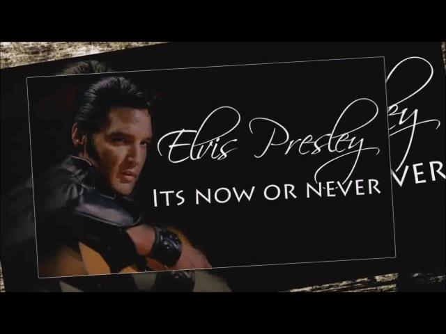 Elvis Presley It's now or never SR