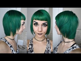 Phantom Green Bobcut Tutorial from Sary Fairy