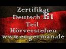 Zertifikat Deutsch B1 | Hörverstehen B1 | Modelltest 4
