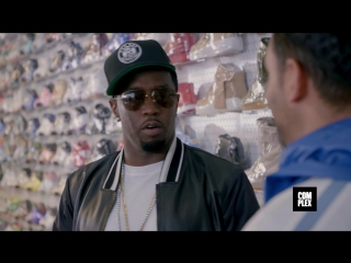 Outpac x VPerevode: Diddy скупает горы сникеров вместе с Complex Sneaker Shopping
