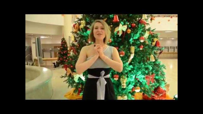 Поздравление с Новым Годом от Елены Мининой автора и ведущей проекта ПроЗвучан
