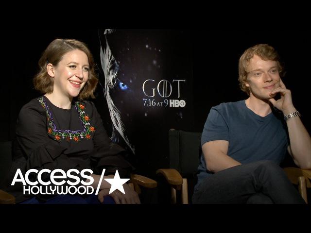 'Game Of Thrones': Gemma Whelan Alfie Allen On The Emotions Of Yara Theon's S6 Reunion