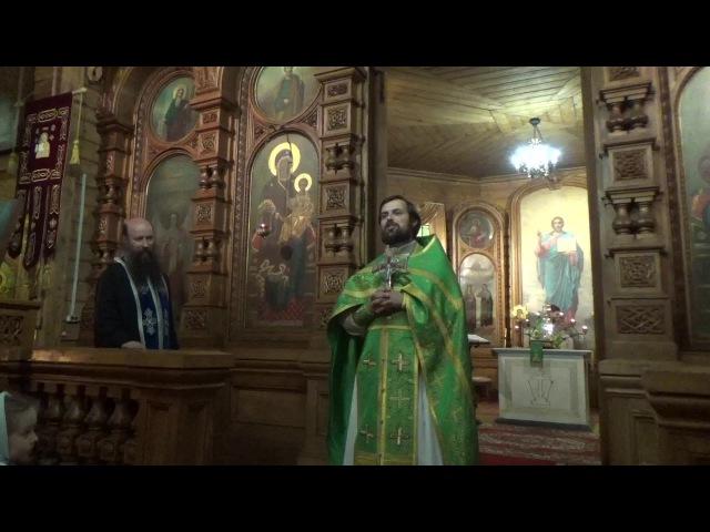 Проповедь иерея Сергия Чекоданова о пути преподобного Сергия Радонежского