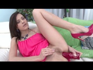 Ria sunn anal porn, double anal penetration, жестко трахнули в попку, двойной анал, 18+