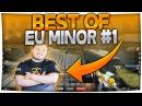 Flusha Sick CLUTCH - Best of EU MINOR 1 CSGO