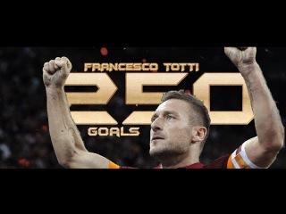 Francesco Totti - Tutti i 250 Gol - ALL GOALS HD