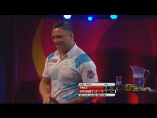 Gerwin Price vs Willard Bruguier (PDC US Darts Masters 2017 / Round 1)